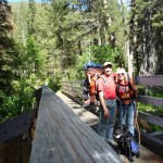 Lake Louise Trail Bridge - Twisp  Washington